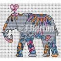 Elephant (cross stitch chart download)