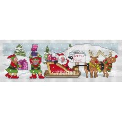 North Pole (cross stitch chart download)