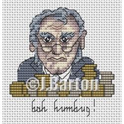 Bah humbug! (cross stitch chart download)