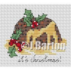 Christmas pudding (cross stitch chart download)