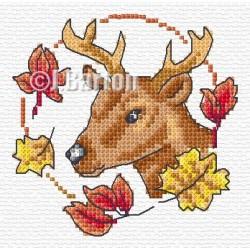 Deer (cross stitch chart download)