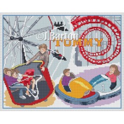 Day at the fair cross stitch chart
