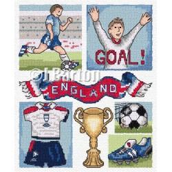 Football cross stitch chart