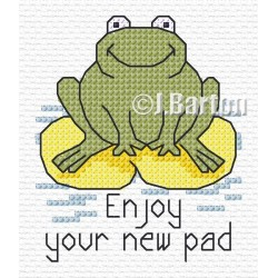 New pad cross stitch chart