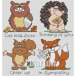 Thinking of you (cross stitch chart download)